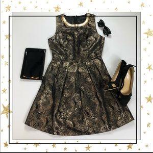 Romeo&Juliet Gold Mini Dress (Hp23B5K)